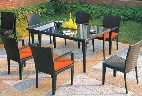 Living comedor de terraza zen mobiliario - Comedor terraza ...